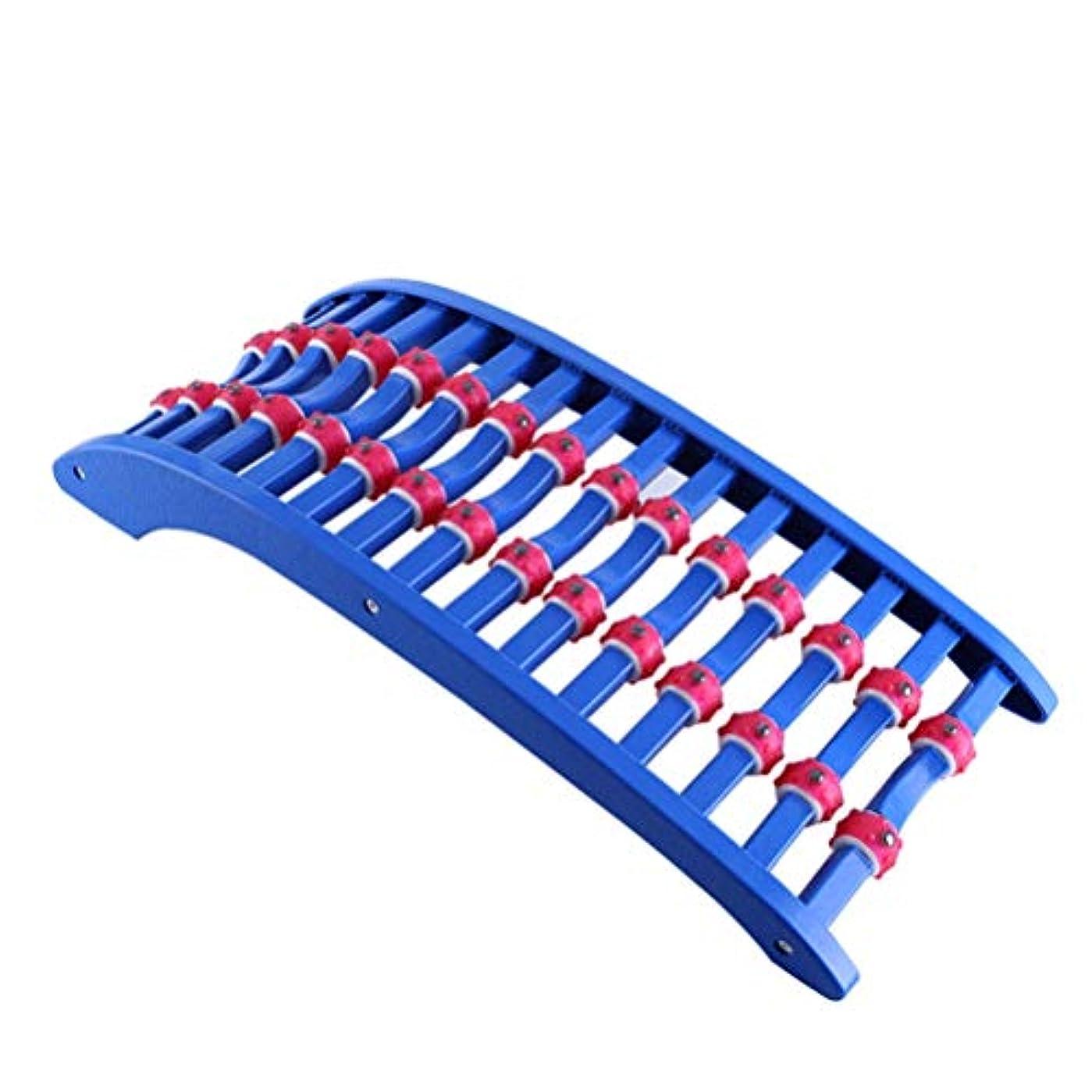 地殻ヨーロッパ寄付バックストレッチャー バックマッサージストレッチメイト整形外科バックストレッチャー 背骨を改善します寝るだけ簡単 ストレッチ