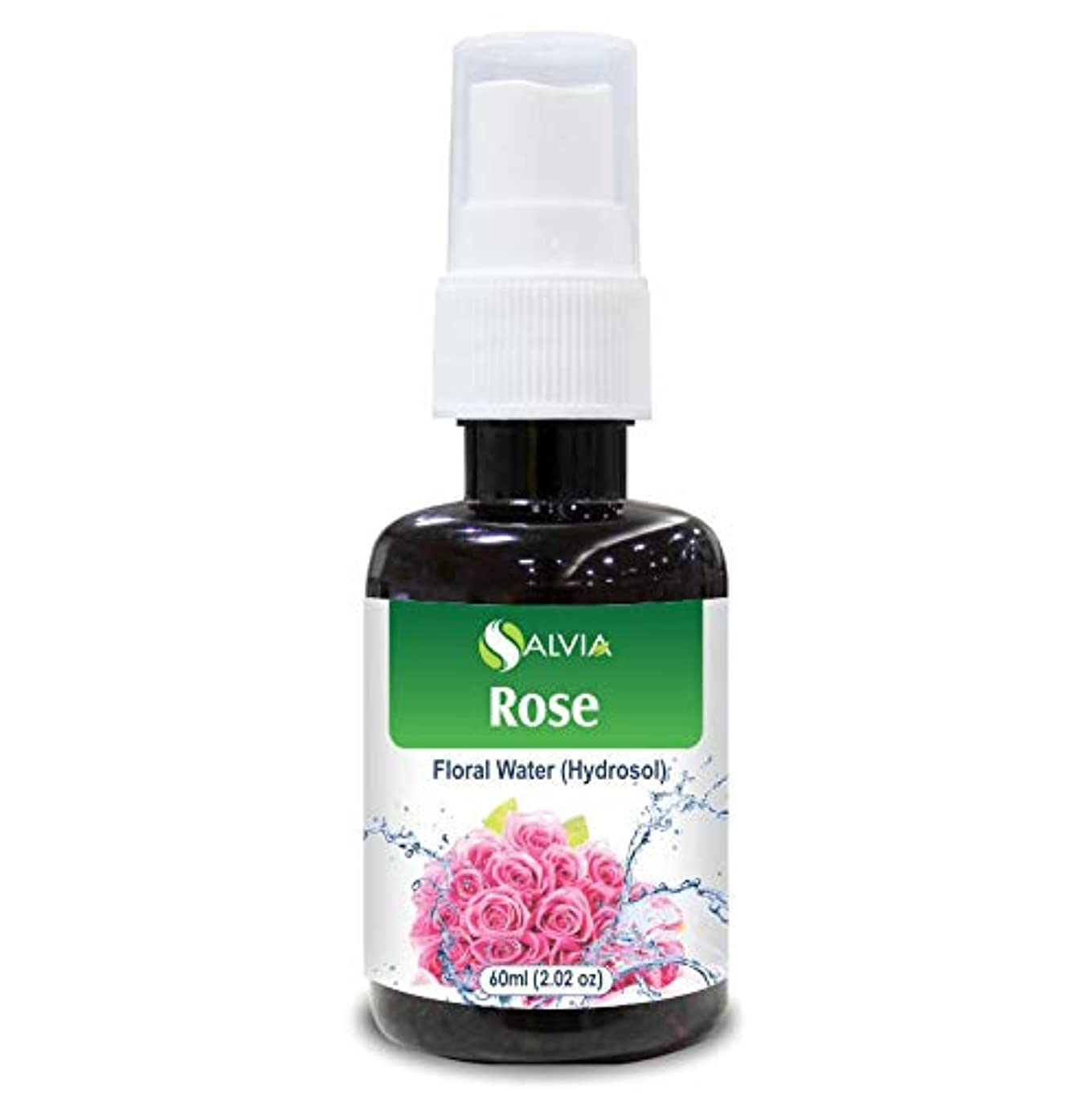 Rose Floral Water 60ml (Hydrosol) 100% Pure And Natural