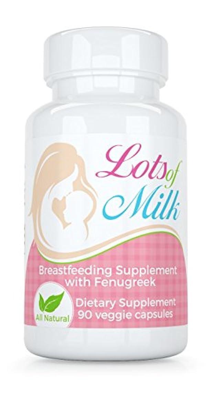 嫌い酸っぱいセグメントBasic Vigor たくさんの母乳授乳ブレンド(90カプセル)