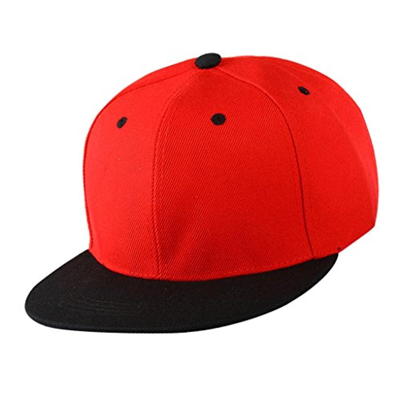 【ノーブランド品】 野球帽 ゴルフ帽子 ヒップホップ 調節可能 男女兼用 ファッション アクセサリー 贈り物 全9色