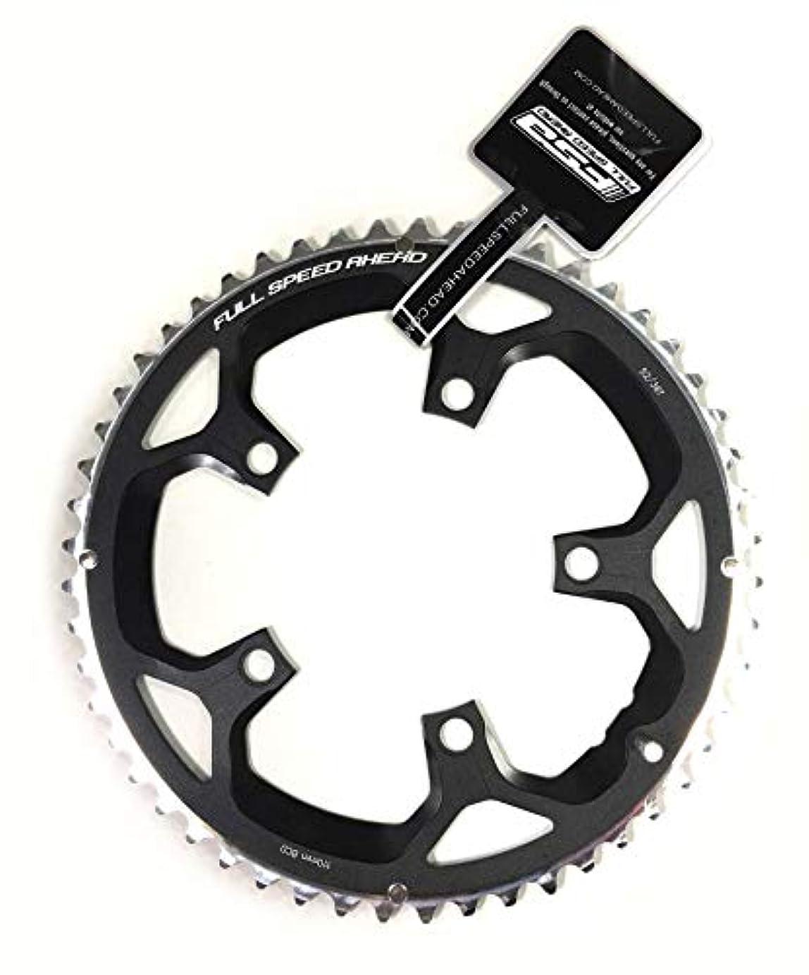 パプアニューギニア観客野菜自転車 部品 パーツ クランク チェーンリング CR RD PRO black 110x52T N11 WA047