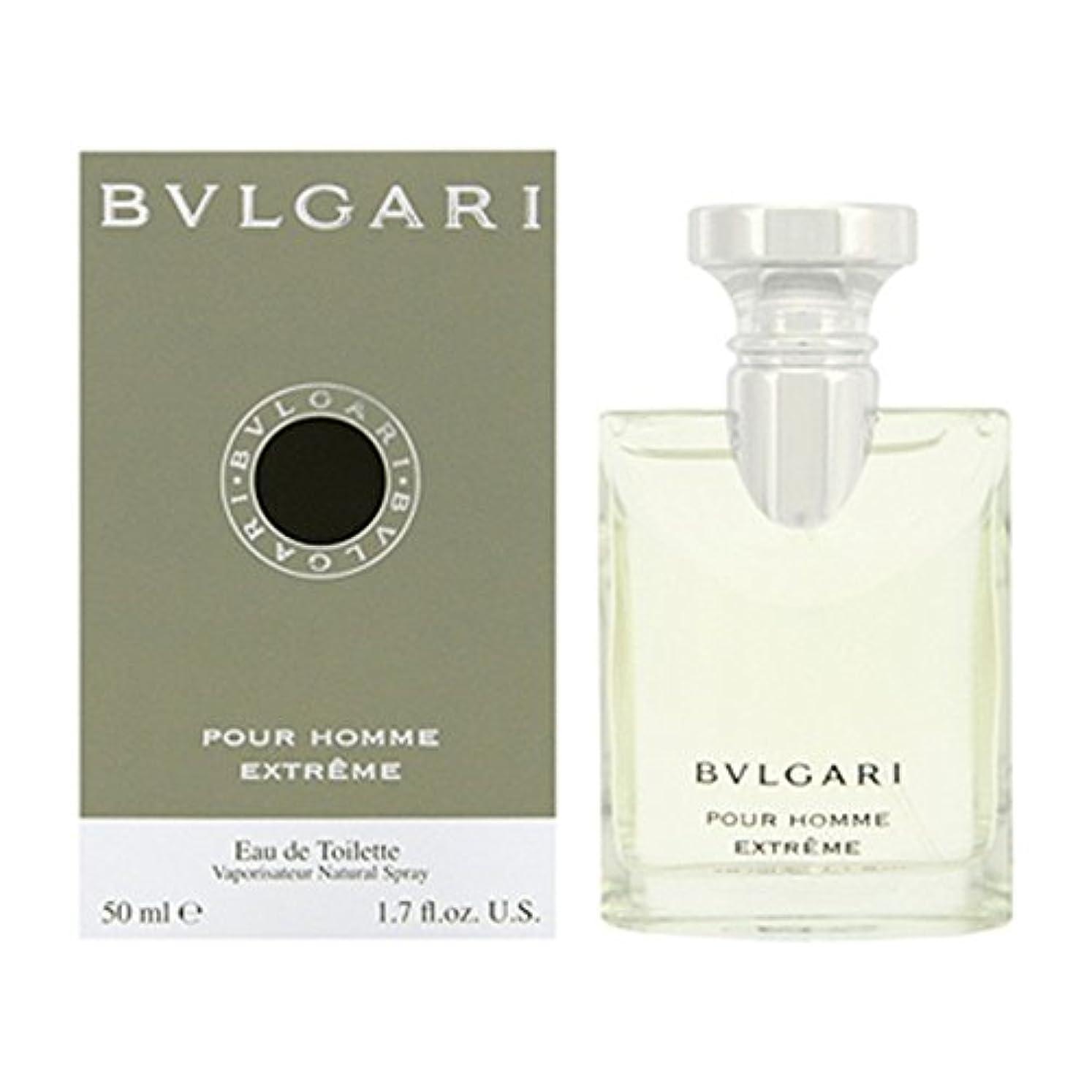 呼ぶ透過性乳製品ブルガリ BVLGARI ブルガリ プールオム エクストリーム 50ml EDT SP fs