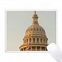 アメリカ、テキサス州オースティン、キャピトルビルの自由の女神。 PC Mouse Pad パソコン マウスパッド