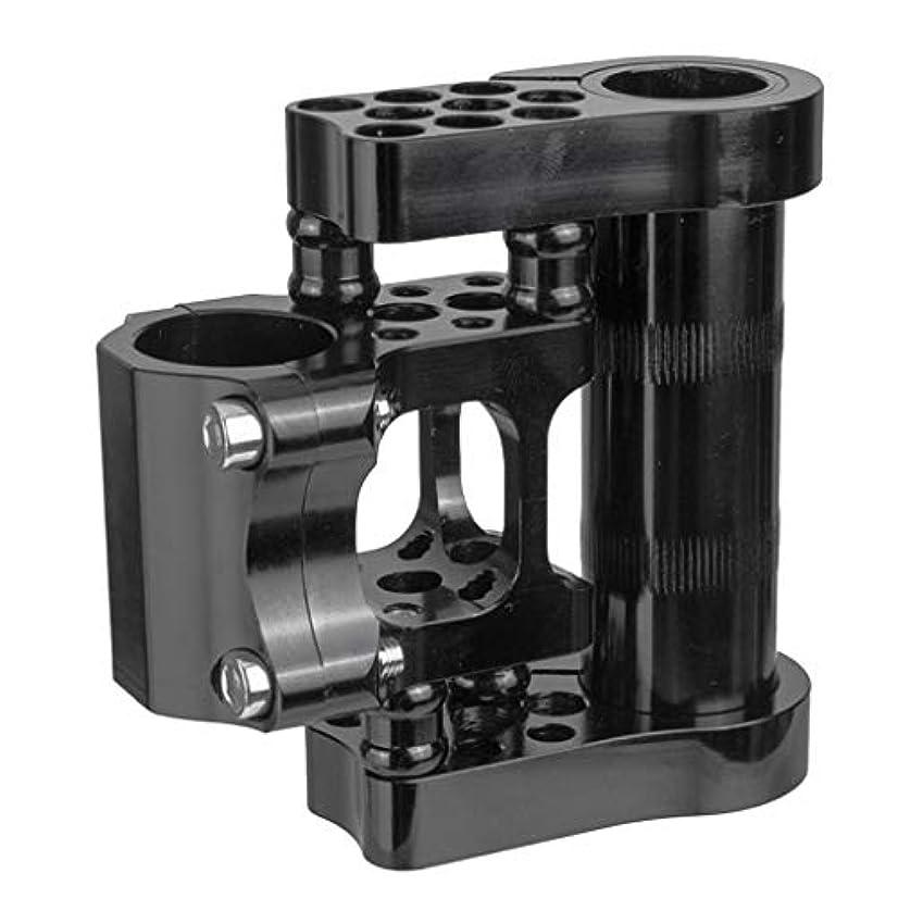 シャーク降臨感動するgazechimp ロードバイクステムアジャスタブルショートエクステンダ 25.4mmハンドルバー用