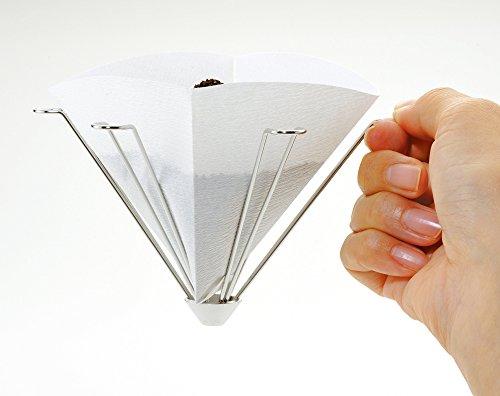 イワキ 耐熱ガラス コーヒーポット・ビカ 600ml K8694-SV