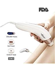 家族の女性と男性のための永久的な脱毛のためのパルス光脱毛器、体と顔のための高度なIPL脱毛装置