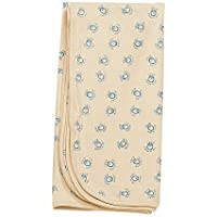 Receiving Blanket Organic Cotton Pure Baby Blue [並行輸入品]