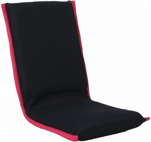 収納らくらく!『 メッシュ折り畳み座椅子 #7202 』【IT】【tm】パープル(#9810165)サイズ:約47×52×高17~63cm