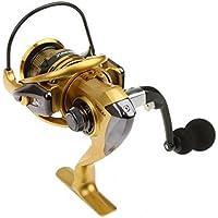 ノーブランド品 2個セット お買い得 フルメタル CNC 折り畳み式 ロッカーアーム  釣りスピニングリール  ギア比4.7:1  全3種類選べる - XF4000