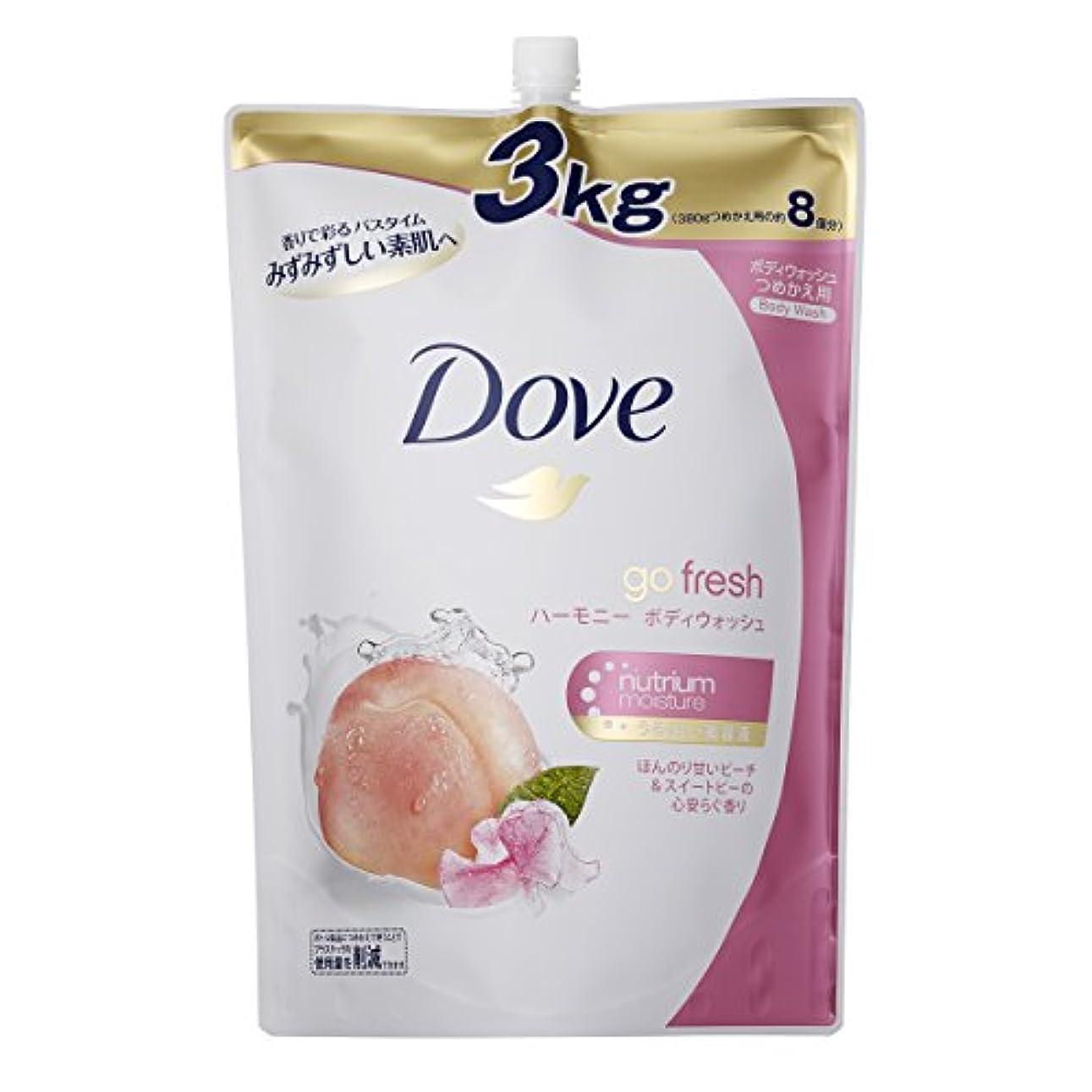 はちみつディプロマ褐色【大容量】 Dove ダヴ ボディウォッシュ ハーモニー つめかえ用 3000g
