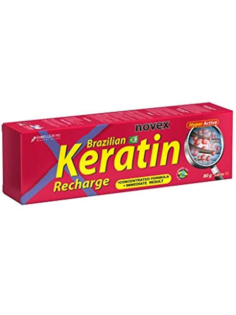 香りレザーカレンダーNovexのブラジルのケラチンの再充電の管は、80を残します