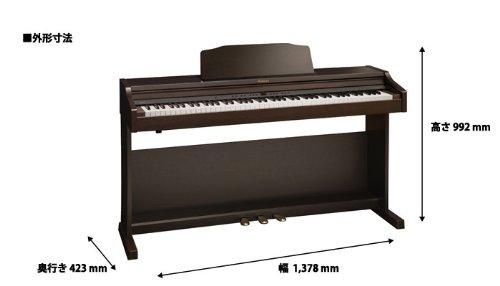 ROLANDRP401RRWSローズウッド調仕上げ電子ピアノ(ローランド)
