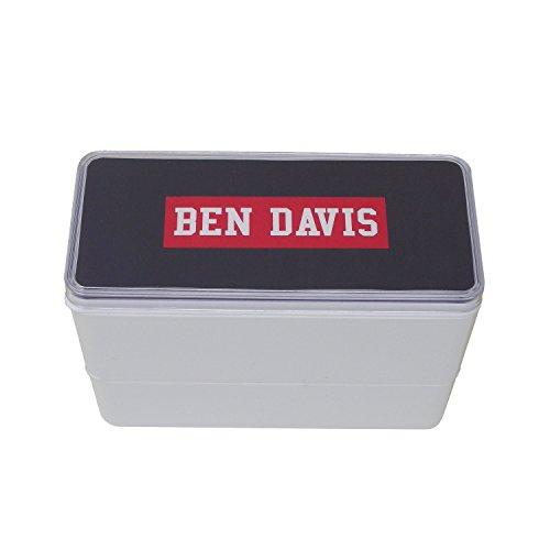 BEN DAVIS 弁当箱 ブラック 270+200ml 6...
