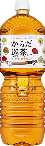 [2CS] コカ・コーラ からだ巡茶 お茶 ペットボトル (2L×6本)×2箱
