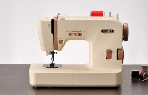 SINGER MF-8200 自動糸調子電子ミシン ロックカッター、ワイドテーブル、ハードケース付