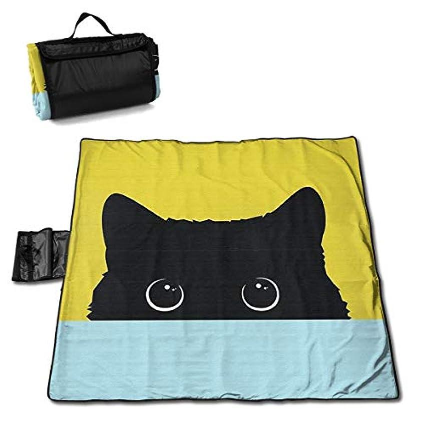 ホイッスルフレッシュケーキQQ LOVE 恥ずかしい猫 レジャーシート ピクニックシート 厚手 レジャーマット 折り畳み 150*145 Cm