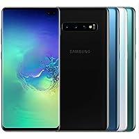 """Samsung Galaxy S10+ Plus 128GB SM-G975F/DS (FACTORY UNLOCKED) 6.4"""" 8GB RAM Dual Sim [並行輸入品] (White)"""