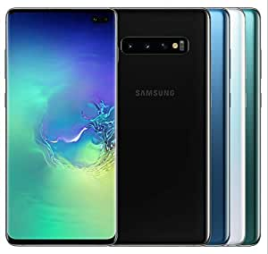 "Galaxy Samsung S10+ プラス 128GB SMG975F/DS (出荷時ロック解除) 6.4"" 8GB RAM デュアルシム [並行輸入品] (ホワイト)"