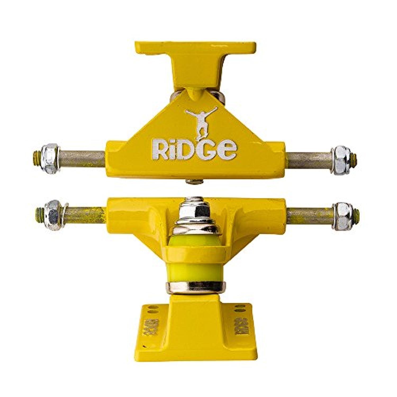 (Yellow) - Ridge Skateboards Skateboard Trucks for Mini Cruiser, 7.6cm
