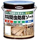 アサヒペン 木材防虫防腐ソート 2.5L 透明(クリヤ)