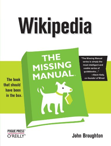 Download Wikipedia: The Missing Manual 0596515162