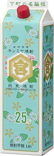 キッコーミヤ焼酎キンミヤパック 1800ml
