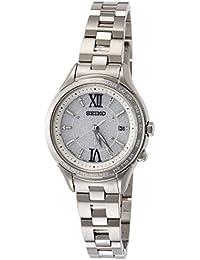 [ルキア]LUKIA 腕時計 ソーラー電波修正 サファイアガラス スーパークリア コーティング 10気圧防水 SSVV011 レディース