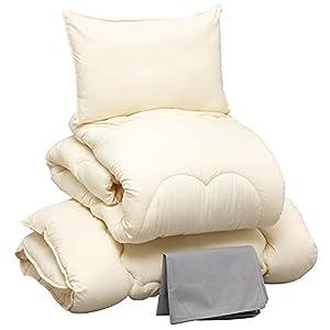布団セット 5点 洗える ほこりの出にくい布団...の関連商品8