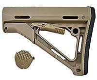 MAGPUL CTRタイプ M4用 ストック リアル刻印入 DE [並行輸入品]