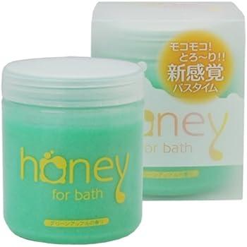とろとろ入浴剤【honey】(ハニー) グリーン グリーンアップルの香り 泡タイプ ローション バブルバス