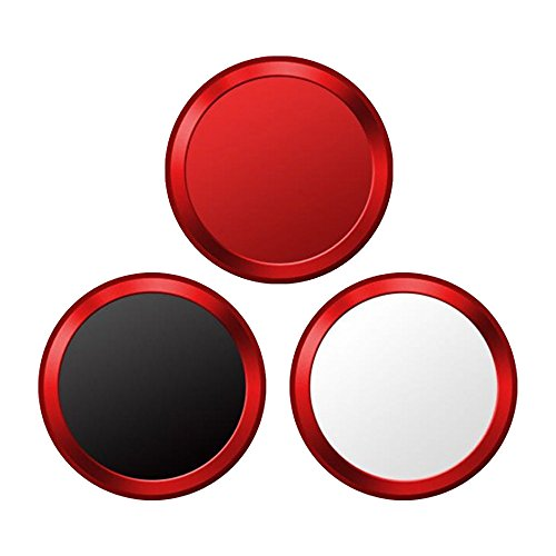 【お買い得3枚セット】指紋認証機能対応 ホームボタンシール 取付簡単 3枚入り