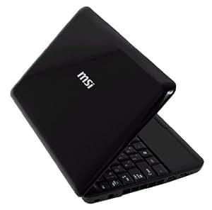 【Amazon限定】 MSI Win100シリーズ 10インチワイド液晶 ネットブック ブラック Win100 BK