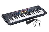 ほうねん堂 エレクトーン キーボード 電子 オルガン ピアノ 37鍵盤 マイク付き 子供 楽器 おもちゃ