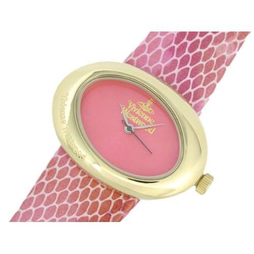 ヴィヴィアン ウエストウッド VIVIENNE WESTWOOD エリプス 腕時計 VV014PKPK[並行輸入]