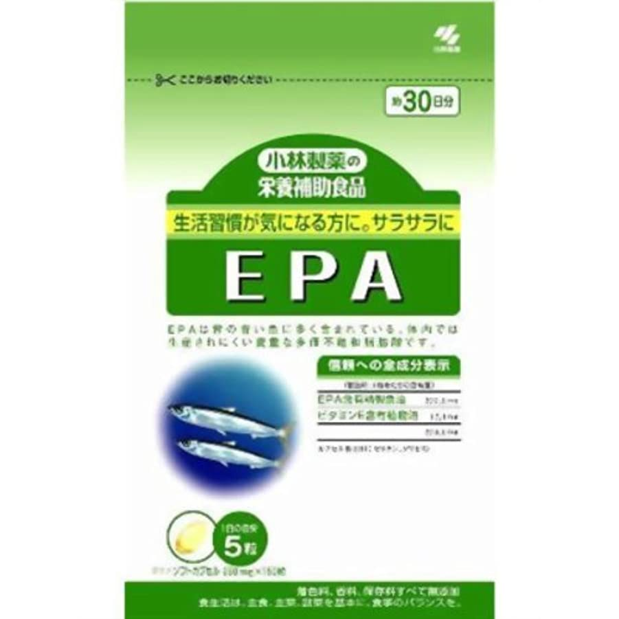 レモン神経吸い込む小林製薬EPA 150粒×(6セット)