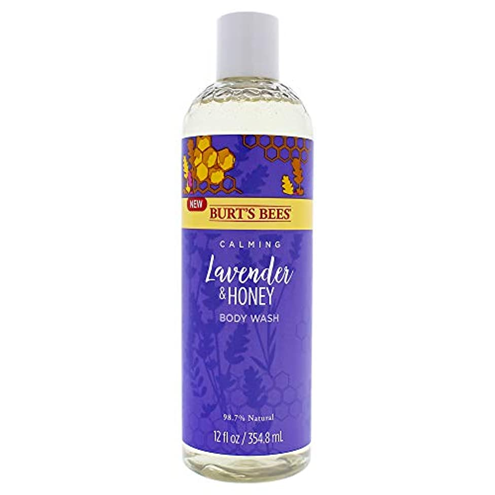 メーターフィードオン限りCalming Lavender and Honey Body Wash