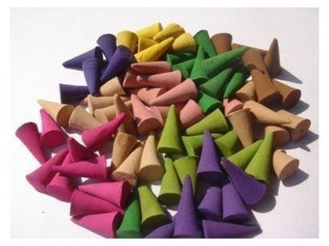 データム系譜感度Incense Cones Mixed Variety of Scents (Pack of 100 Cones) Thailand Product. By Susushi Shop