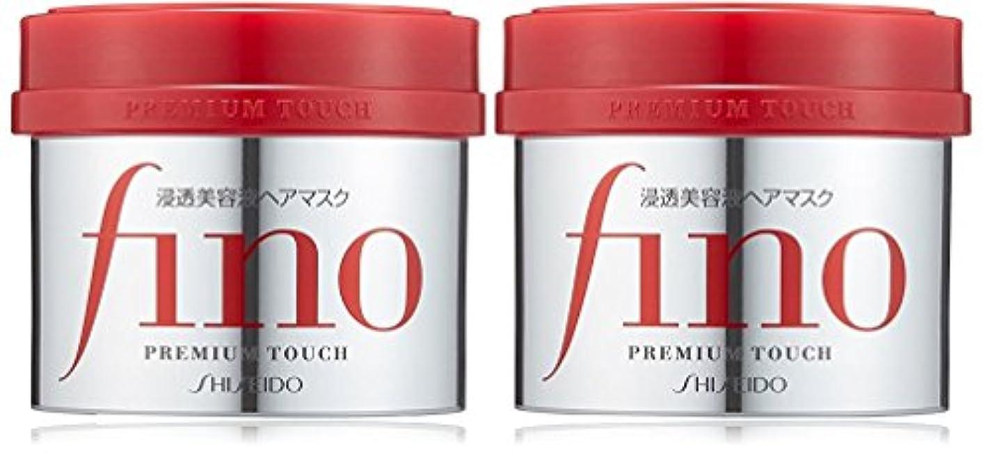 かみそりバタフライ公平フィーノ プレミアムタッチ 浸透美容液ヘアマスク230g×2個セット