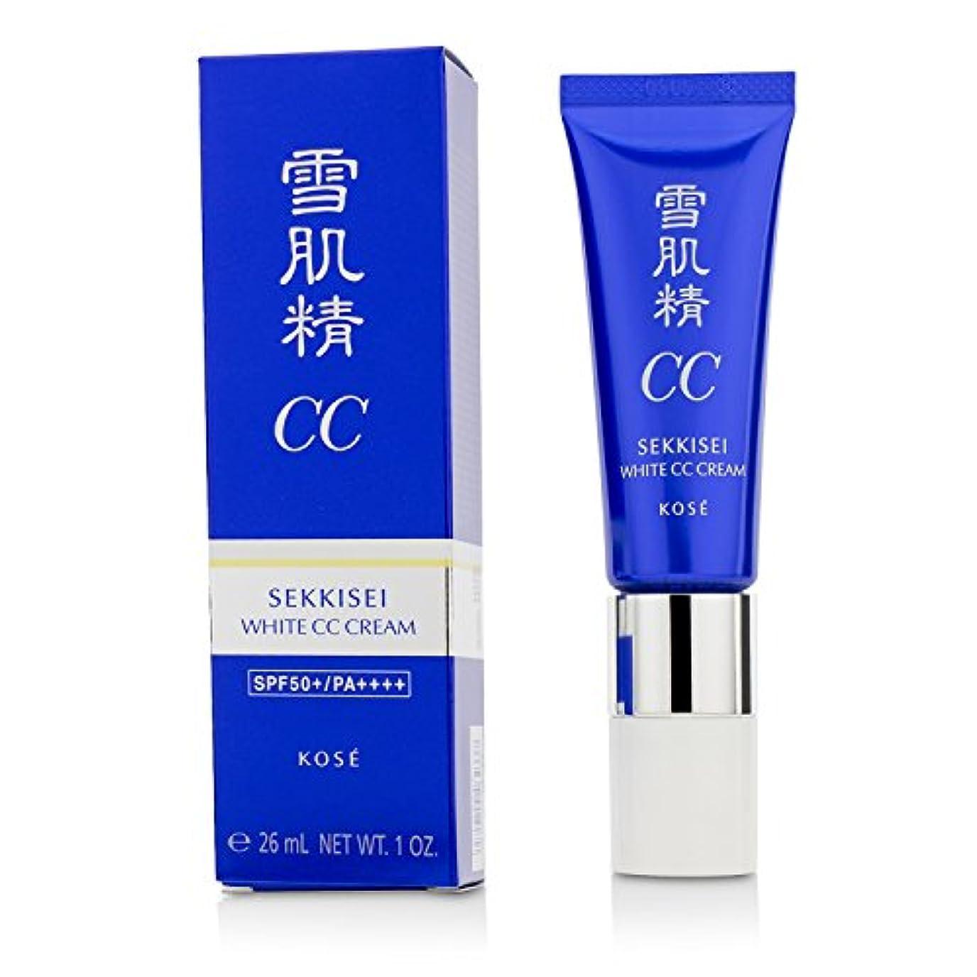 中国実際に概念コーセー 雪肌精 ホワイト CCクリーム【#01】 #LIGHT OCHRE SPF50+/PA++++ 30g