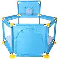 Blue Playpens赤ちゃんのためのポータブル幼児の子供のフェンス屋内と屋外のゲームPlaypen