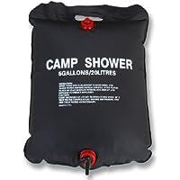 ソーラーキャンプシャワー(太陽光で水を暖めるエコグッズ)(容量20リットル)