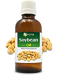Soybean (Glycine Max) 100% Natural Pure Carrier Oil 15ml