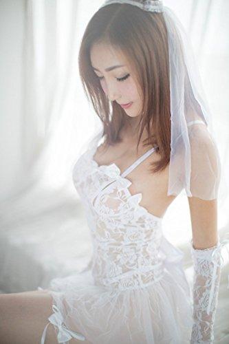 セクシー ウェディングドレスエロい かわいい 悩殺 花嫁 シ...