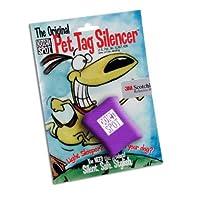 Quiet Spot Pet Tag Silencer - Purple by Itzadog