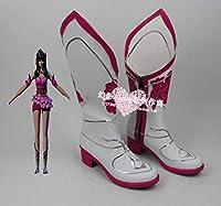 Slolita 编号679 墓王之王 林水瑶 コスプレ靴 cosplay コス 靴 ブーツ 下駄 ハイヒール シューズ (28cm)