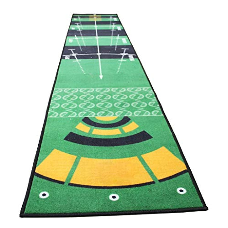 ヒューズ聴くバーガーマットはゴルフが練習マット屋内アンチスリップパッティング、50X300cmゴルフトレーニングエイドゴルフ屋内マットを入れる、屋内屋外用のグリーンインドアとパッティングパッティング (Color : A)