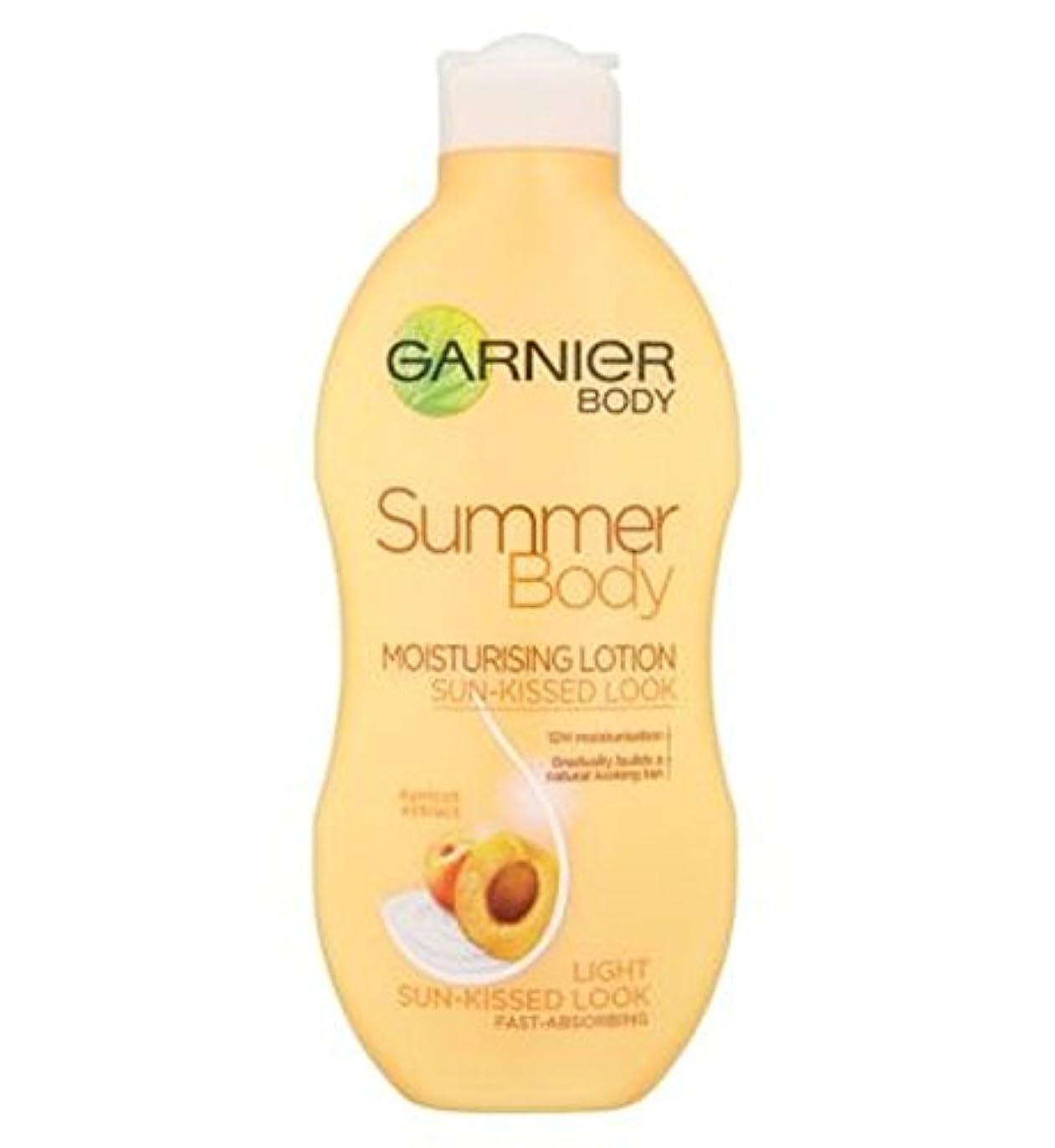 胆嚢アクロバットダーベビルのテスガルニエの夏のボディローションライト日、キスをした250ミリリットル (Garnier) (x2) - Garnier Summer Body Lotion Light Sun-Kissed 250ml (Pack of...