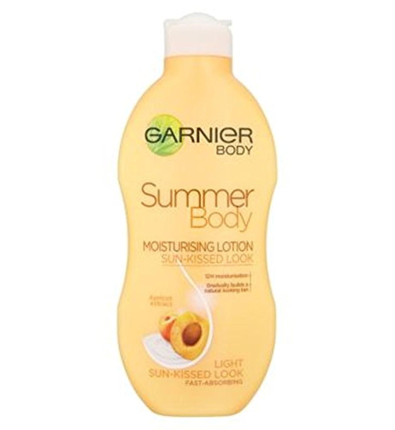 錫童謡死にかけているGarnier Summer Body Lotion Light Sun-Kissed 250ml - ガルニエの夏のボディローションライト日、キスをした250ミリリットル (Garnier) [並行輸入品]