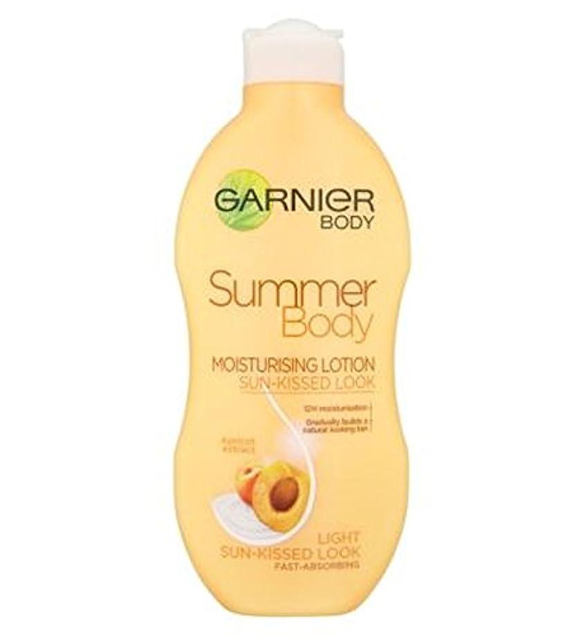 悪性腫瘍噴出する喉が渇いたガルニエの夏のボディローションライト日、キスをした250ミリリットル (Garnier) (x2) - Garnier Summer Body Lotion Light Sun-Kissed 250ml (Pack of...