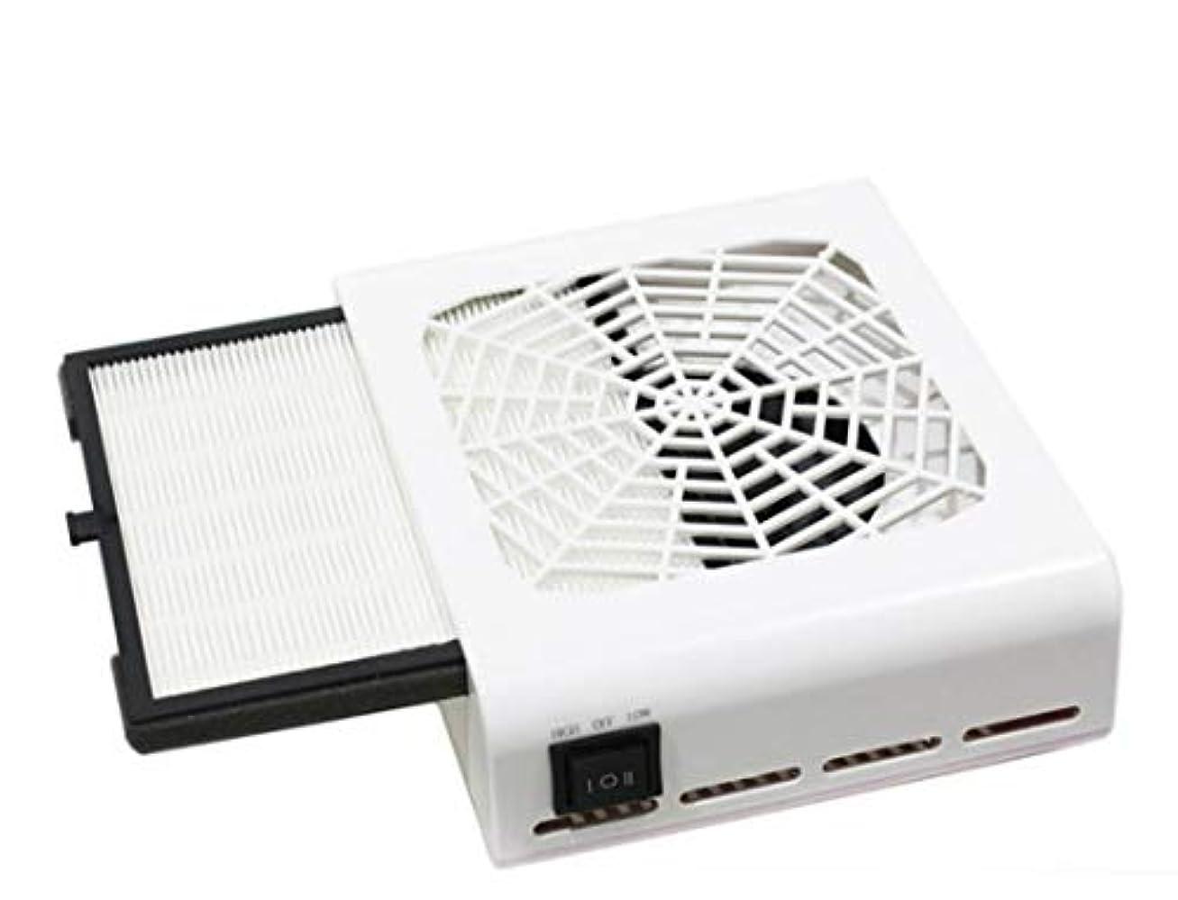 静けさ病気雑品ネイルダスト 集塵機 ダストクリーナー ネイルアート ジェルオフ ネイルオフ ダスト吸引機 強力集塵